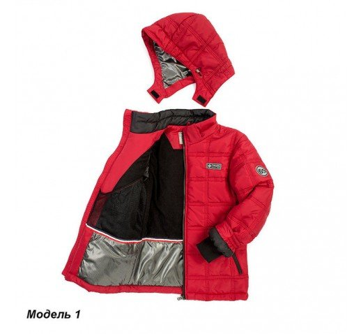 """Зимняя куртка на мальчика """"Кубик"""""""