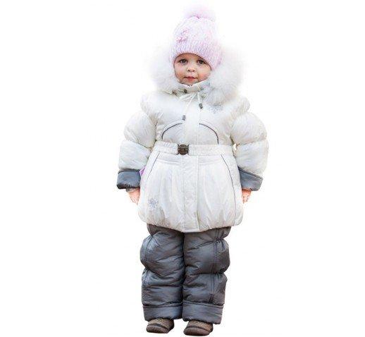 "Детский зимний комбинезон на девочку ""Белоснежка"" 1000 грн \ 870 грн \ 800 грн"