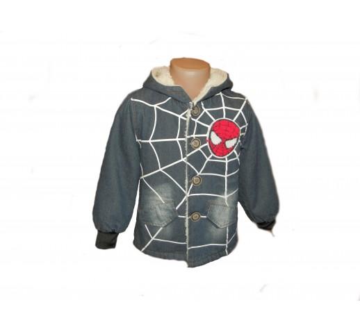 """Демисезонная куртка-парка """"Человек Паук"""""""